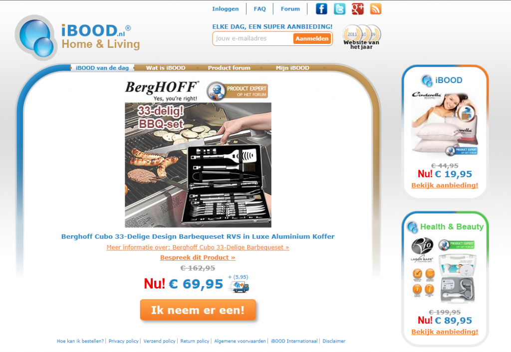 "Die neuen iBOOD Verticals ""Home & Living"" und ""Health & Beatuy"""