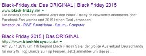 Kampf der Originale bei Google